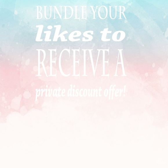 Bundle discount on 2+ items